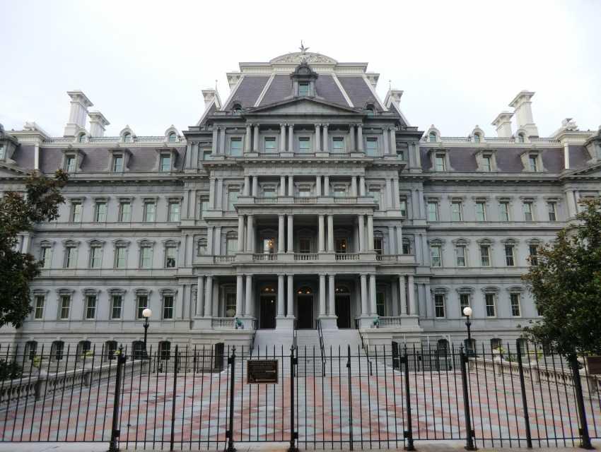 Eisenhower Executive Office Building Washington Cityseeker