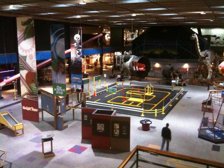 Space Museum Near Oklahoma City