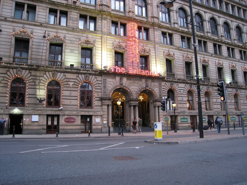 Britannia Hotel Manchester City Centre  Manchester  Cityseeker