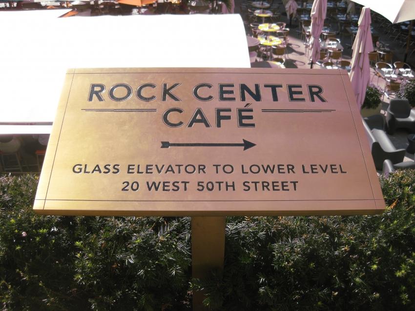Rock Center Cafe - New York, NY