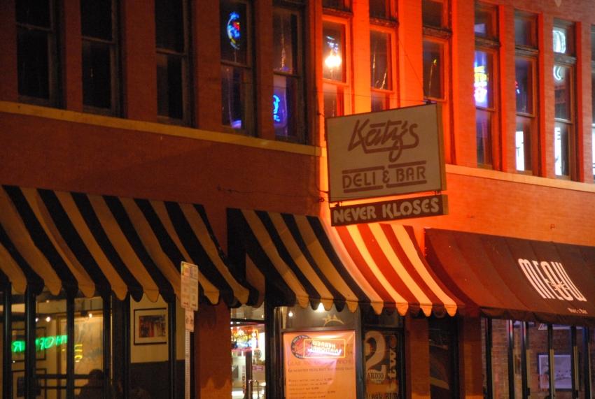 Katz's Deli & Bar (CLOSED) - Austin, TX