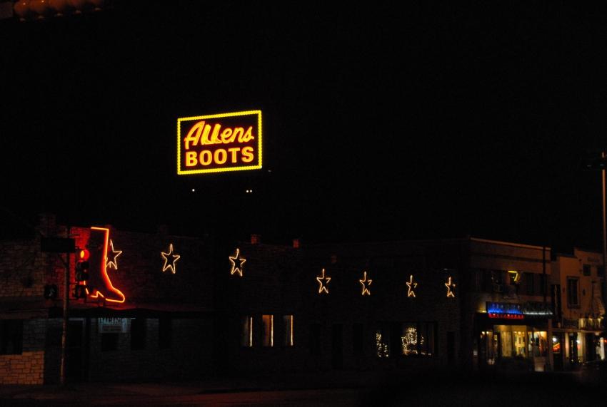 Allens Boots - Austin, TX