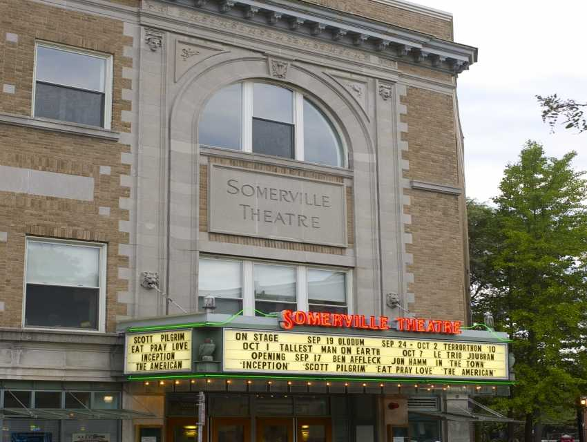 Somerville movie theatre ma