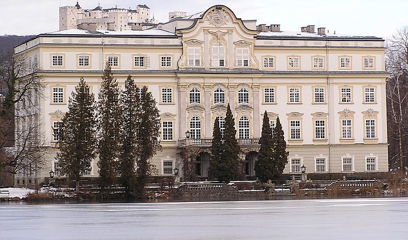 Leopoldskron Palace (Schloss Leopoldskron), Salzburg ...