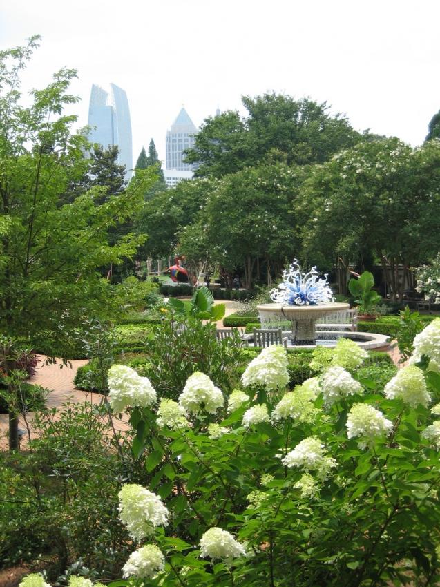 Atlanta Botanical Garden Atlanta Tourist Attractions Sightseeing Outdoor Activities
