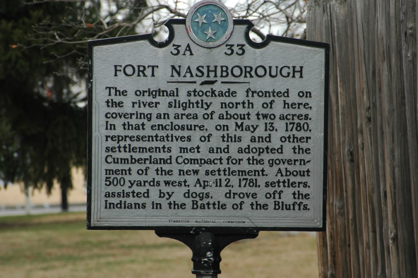 Fort Nashborough - Nashville, TN