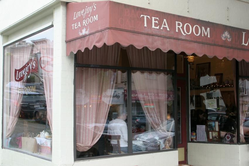 Lovejoy's Tea Room - San Francisco, CA