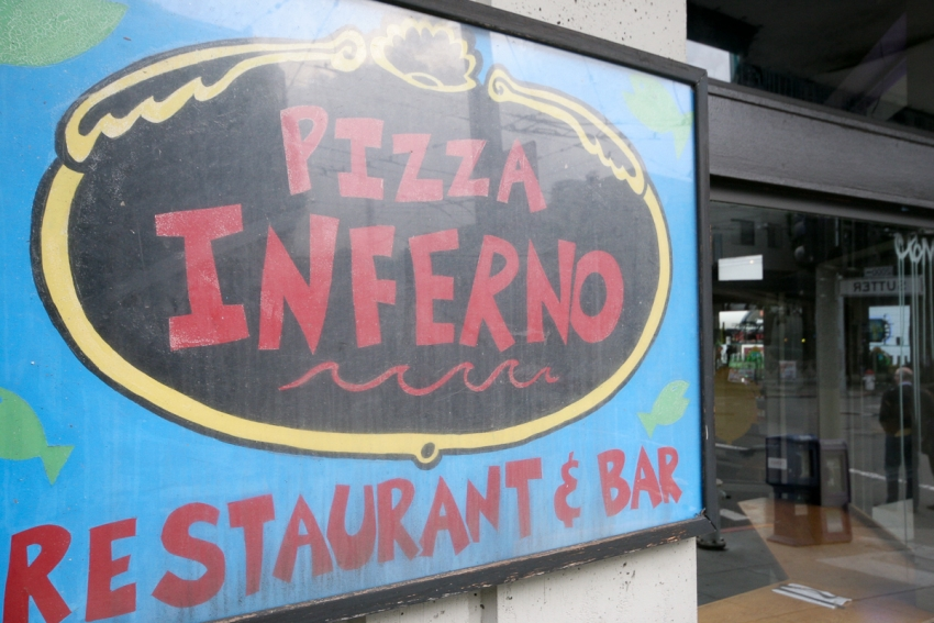 Pizza Inferno Restaurant & Bar - San Francisco, CA