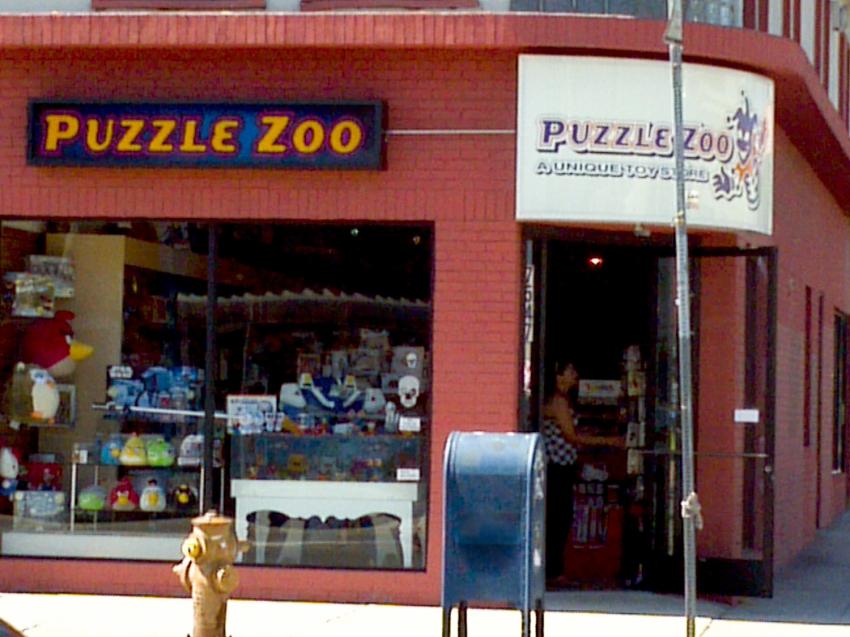 puzzle zoo santa monica shopping eventseeker. Black Bedroom Furniture Sets. Home Design Ideas
