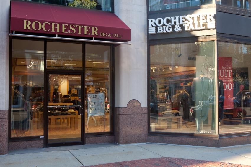 Rochester Big & Tall Clothing - Boston, MA