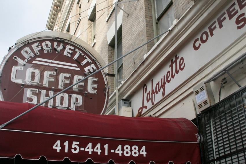 Lafayette Coffee Shop - San Francisco, CA