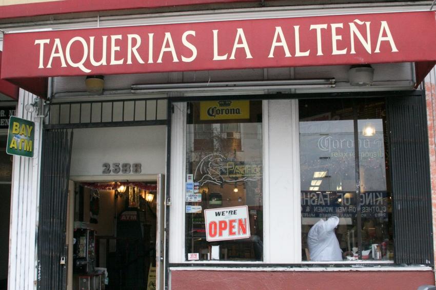 Taquerias La Altena - San Francisco, CA