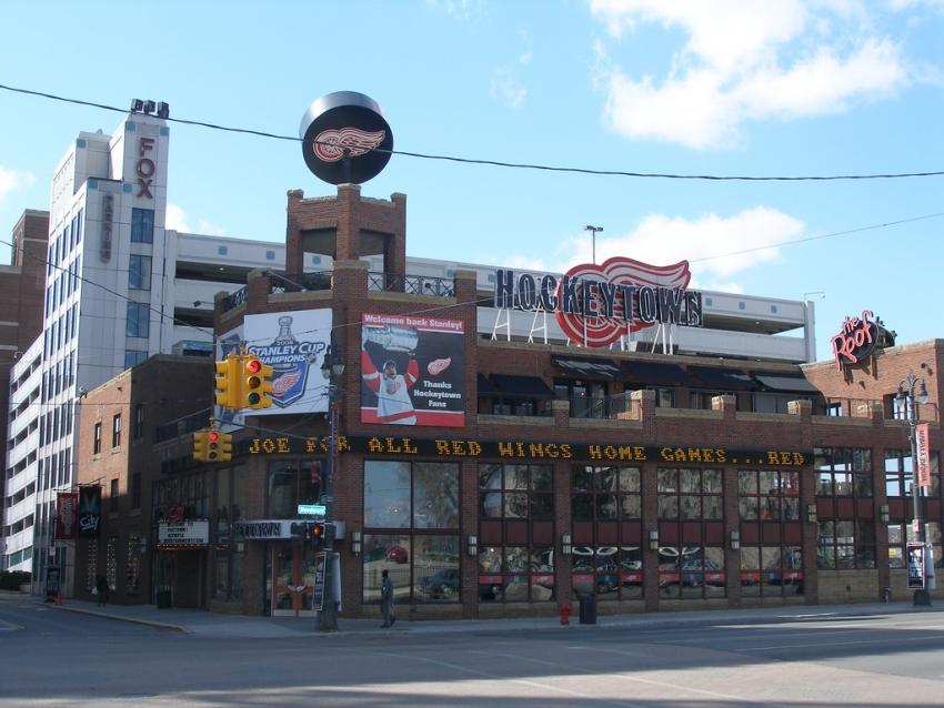 Hockeytown Cafe - Detroit, MI