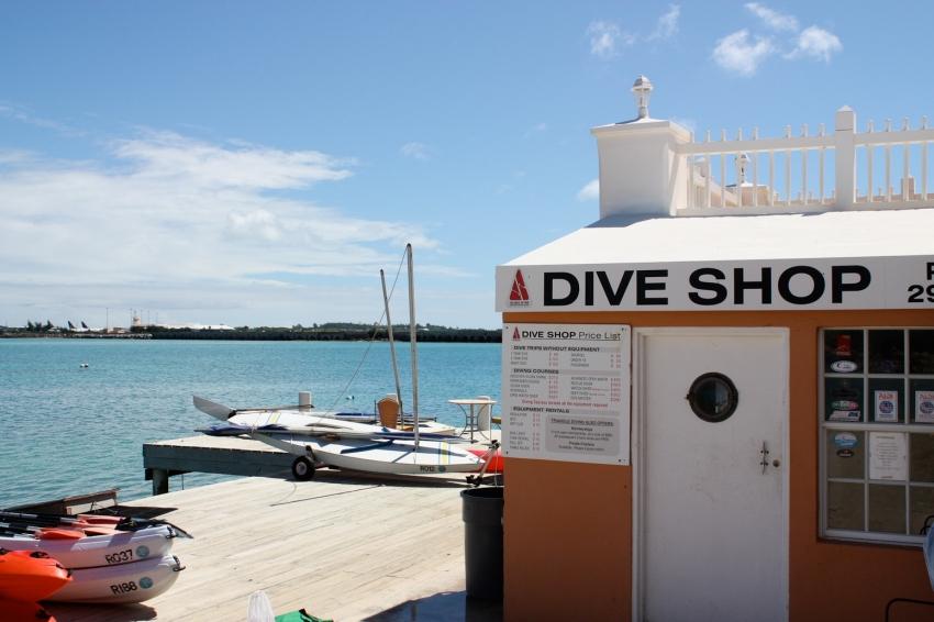 Triangle Diving Hamilton Parish Cityseeker