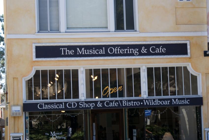 Musical Offering Cafe Berkeley Ca
