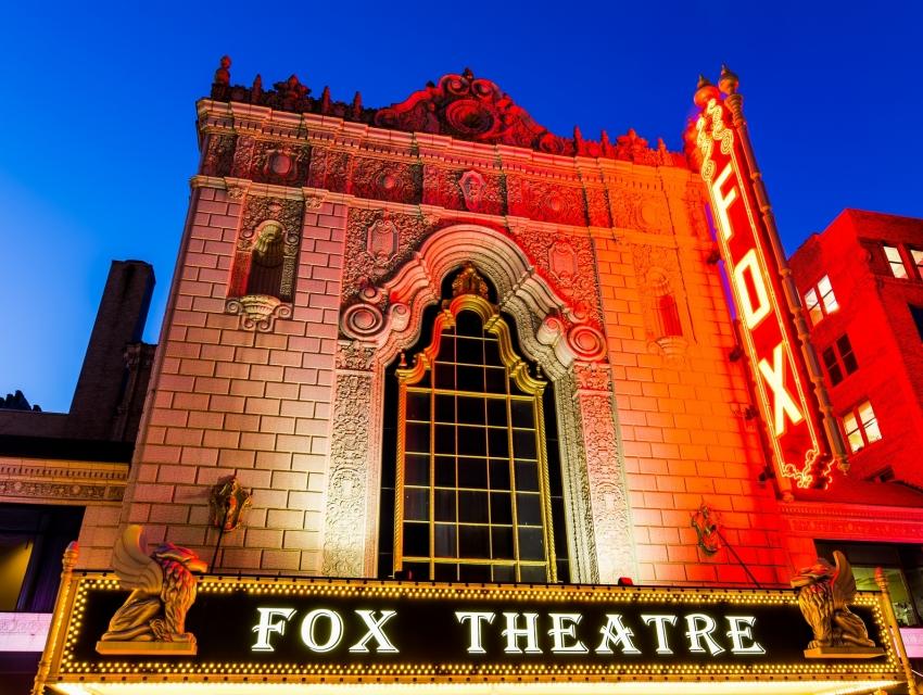 The Fabulous Fox Theatre St Louis Cityseeker