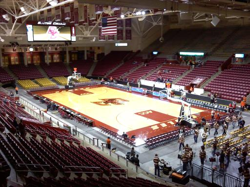 321607-4 Conte Forum Seating Chart