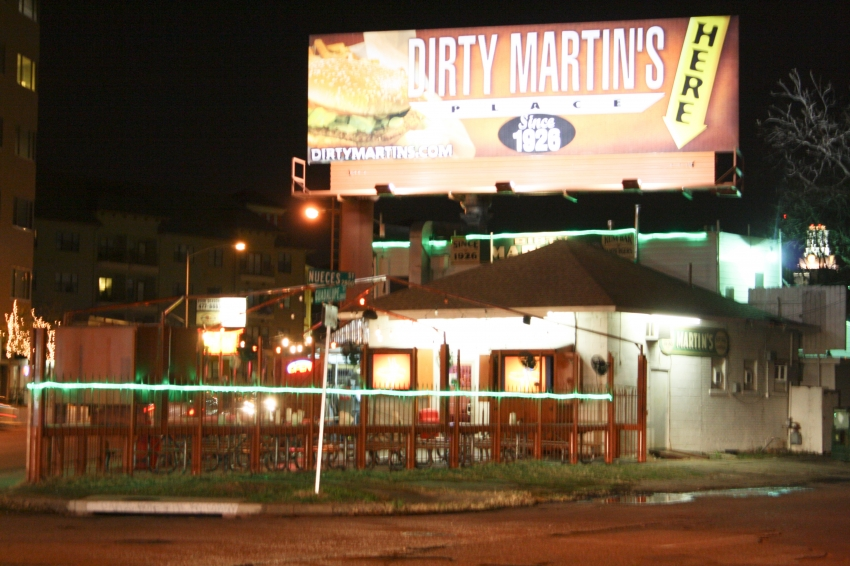 Dirty Martin's Place - Austin, TX