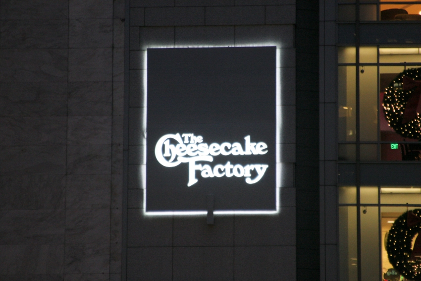 Cheesecake Factory - San Francisco, CA