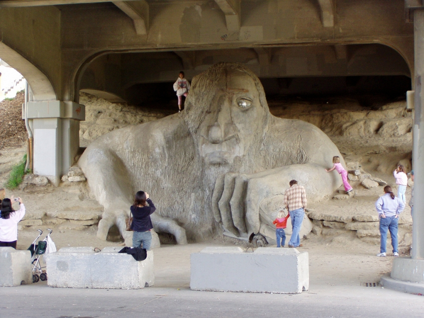 Fremont Troll - Seattle, WA