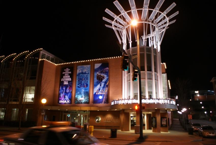 Imax 3d at tennessee aquarium movie theater
