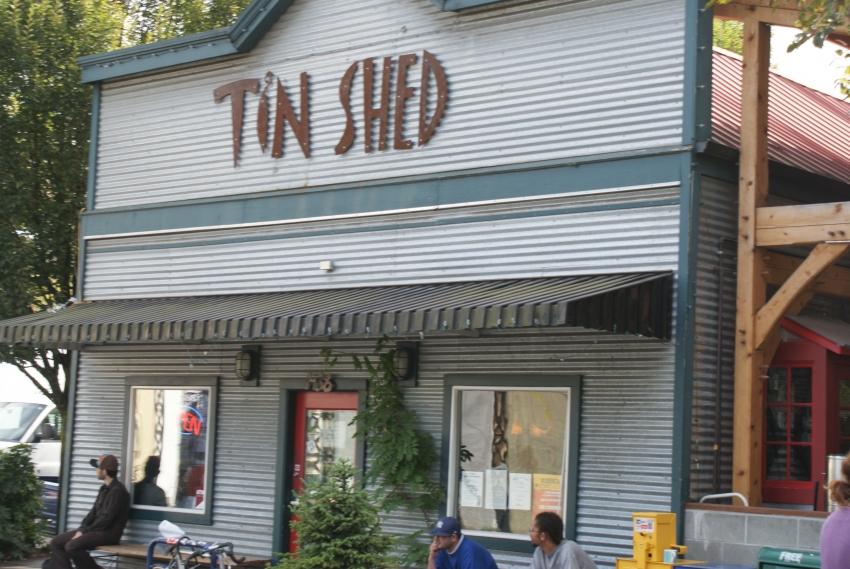 Tin Shed Garden Cafe - Portland, OR