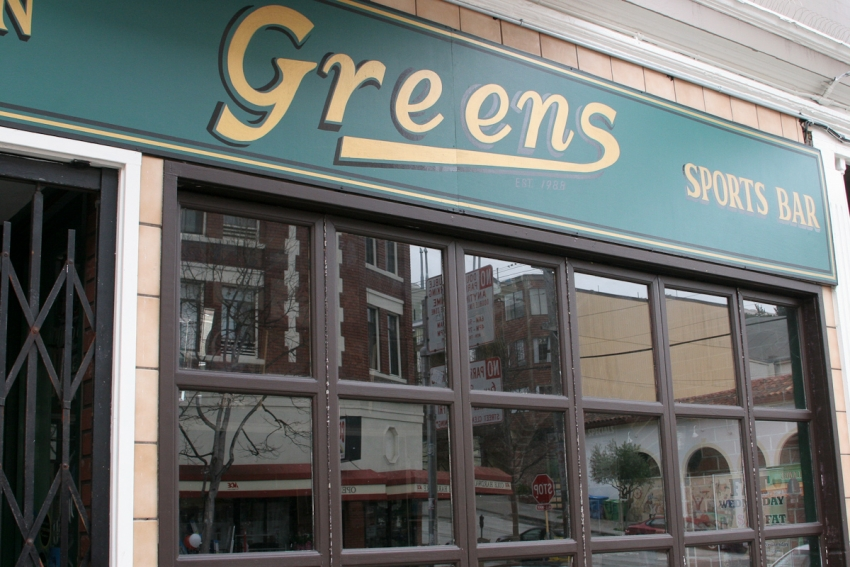 Greens Sports Bar - San Francisco, CA