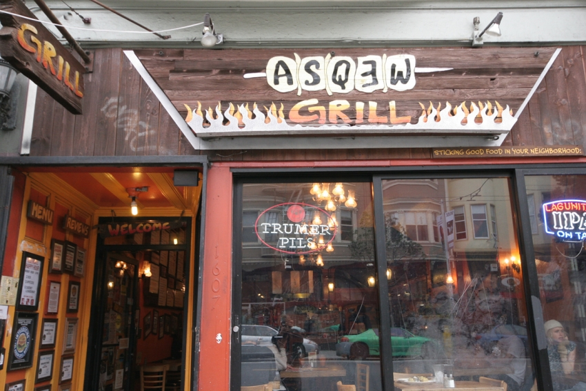 Asqew Grill - San Francisco, CA