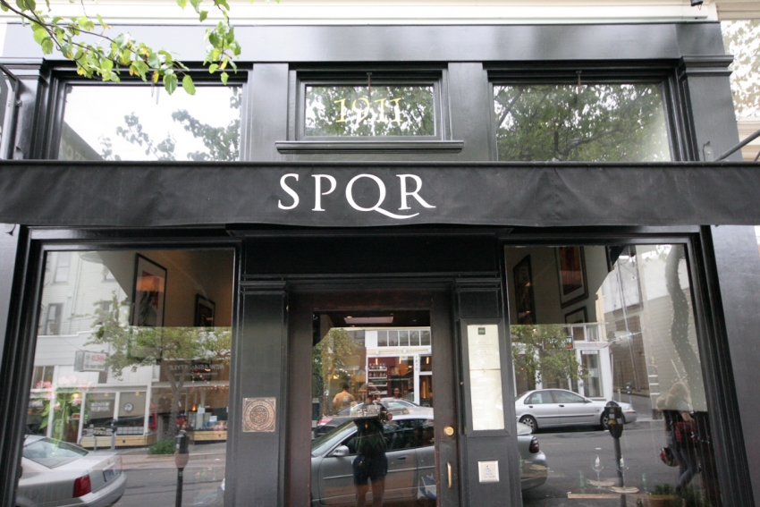 SPQR - San Francisco, CA