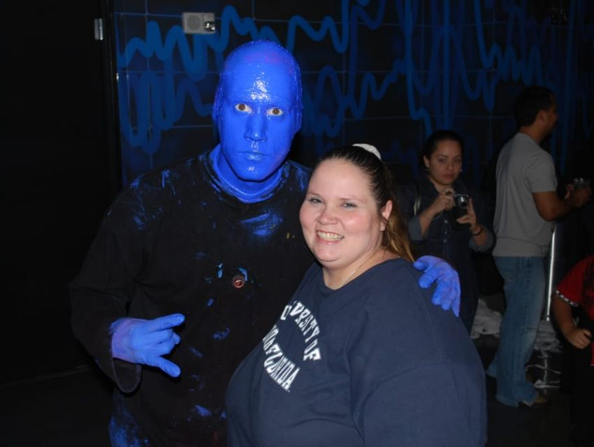 Blue Man Group Aquos Theater
