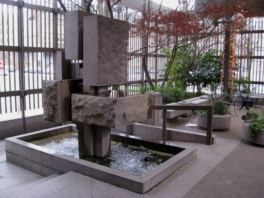 Waterfall Garden - Seattle, WA