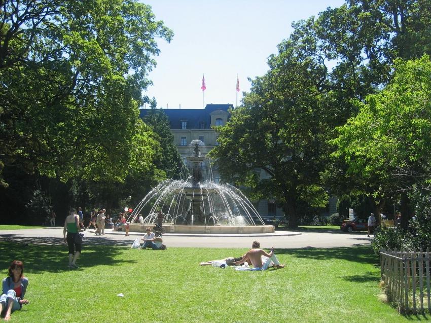 Jardin Anglais, Genf, CitySeeker