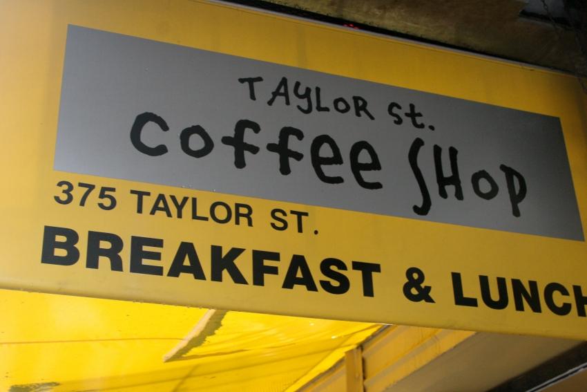 Taylor Street Coffee Shop - San Francisco, CA