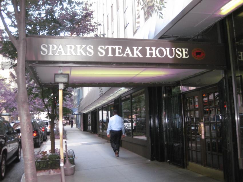 Sparks Steakhouse - New York, NY