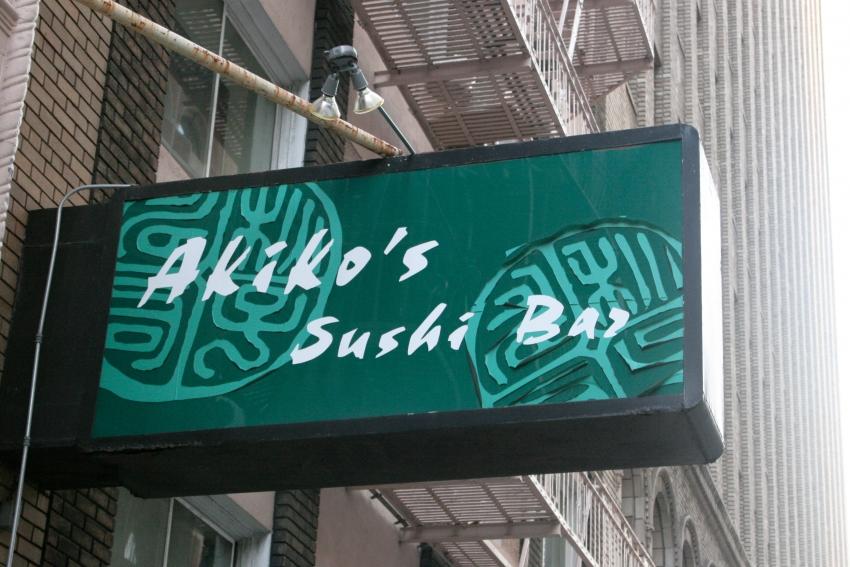 Akiko's Sushi Bar - San Francisco, CA