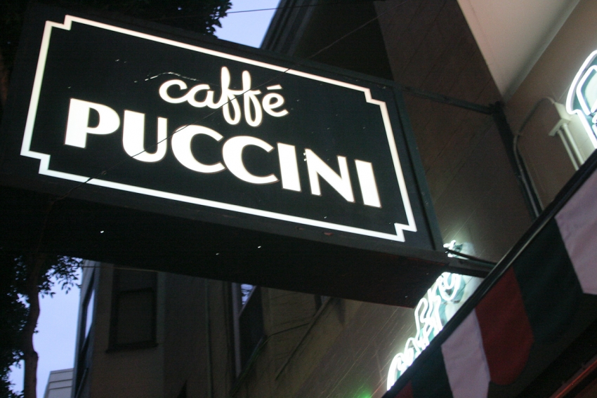 Caffe Puccini - San Francisco, CA