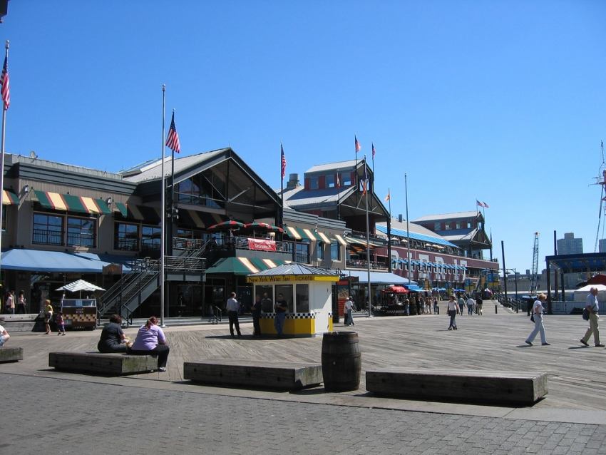 South street seaport new york cityseeker for Boston fish market chicago