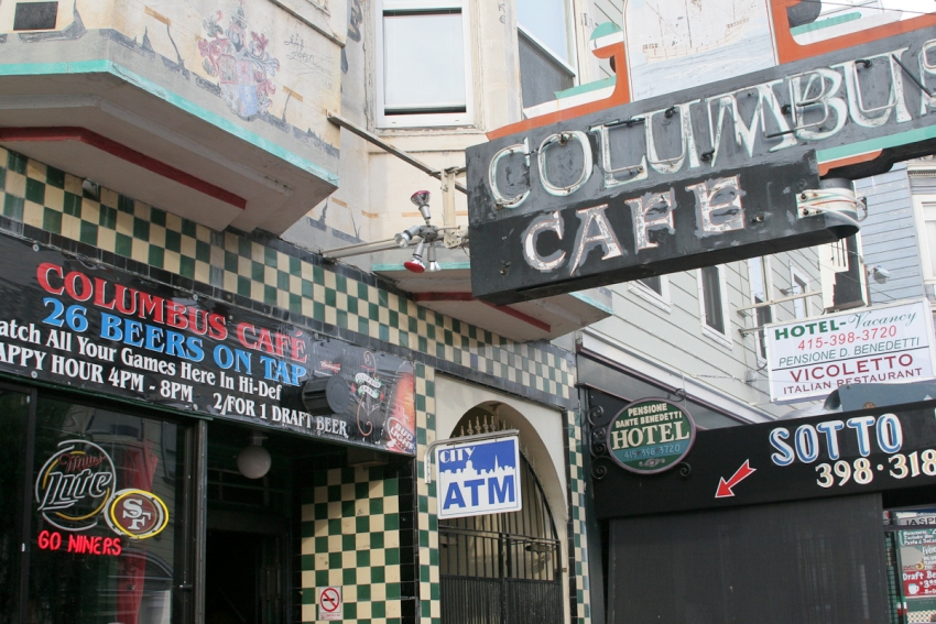 Columbus Cafe - San Francisco, CA
