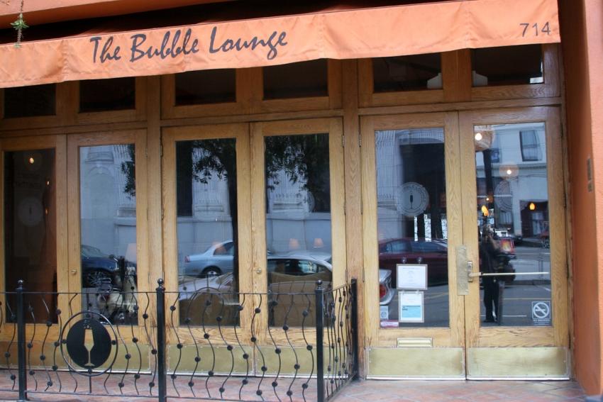 The Bubble Lounge - San Francisco, CA