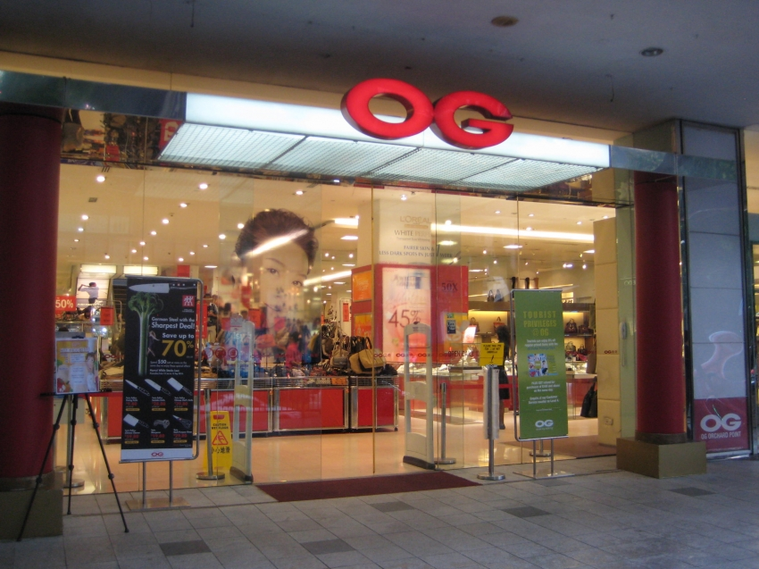 OG Department Store, 160 Orchard Road , Orchard Point Mall ...