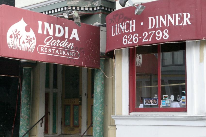 India Garden Restaurant - San Francisco, CA