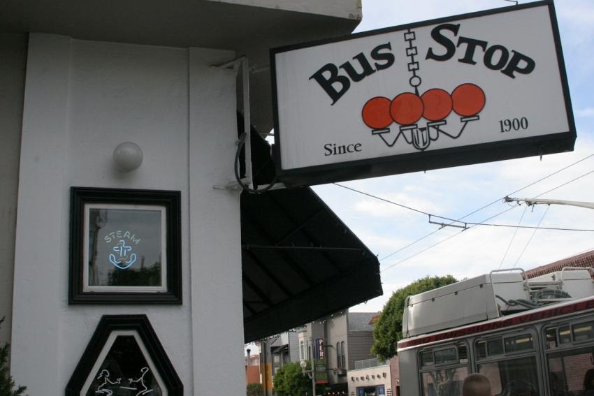 Bus Stop - San Francisco, CA