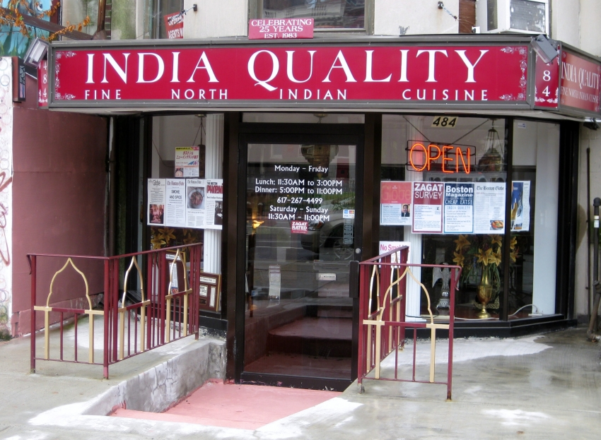 Order delivery online from India Quality Restaurant in Boston instantly! View India Quality Restaurant's October deals, coupons & menus. Order delivery online right now or by phone from GrubHubLocation: Commonwealth Ave, Boston, , MA.